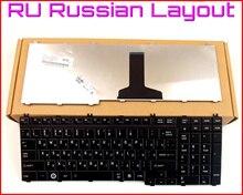 Русский RU Версия Клавиатура для Toshiba SATELLITE L505 L505D L555D L555 A500 A505 P305 P305D P500 P500D P505D P300 Ноутбук