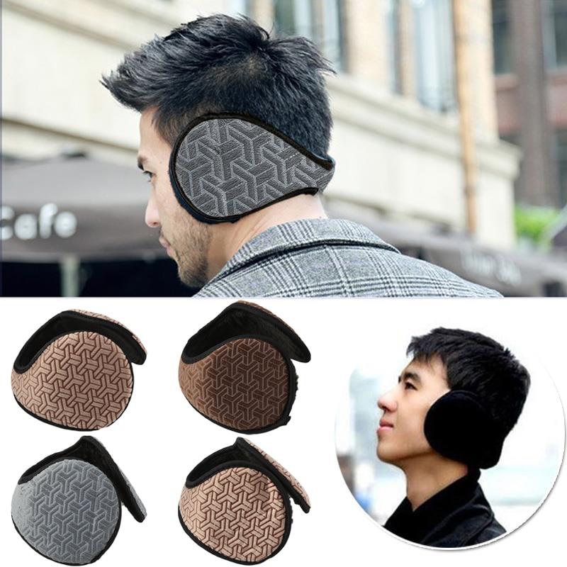 Winter Warm Plush Ear Muffs Cover Protector Unisex Thicken Flannel Warmers Earwarmers Earmuff Wrap Band Wear Earflap Accessories