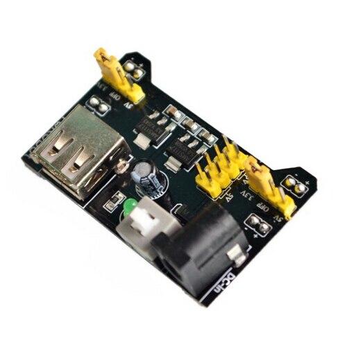 MB102 Breadboard Power Supply Module 3.3V 5V Solderless Bread Board DIY For  Board