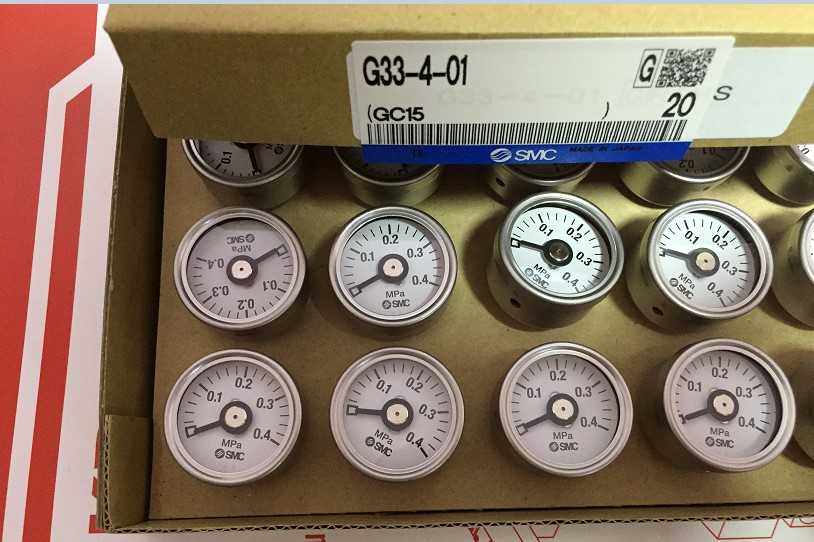 BRAND NEW JAPAN SMC GENUINE GAUGE G33-4-01 brand new japan smc genuine gauge g36 4 01