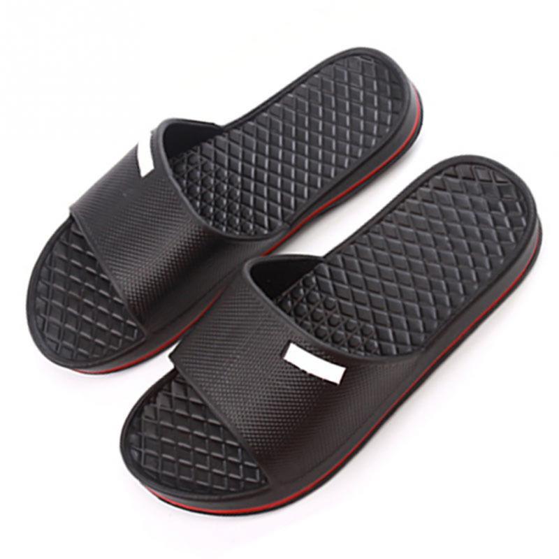 9d3bf294b0373 New Mens Slip On Sport Slide Sandals Flip Flop Shower Shoes Slippers ...