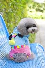 A25 dog Coral velvet coat for 4 legs–party bear shape design pet clothing pet dog winter clothes dog clothes