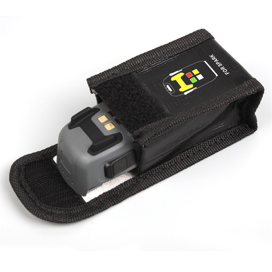 DJI SPARK Drone Lipo Battery Case Explosion-proof Safe Storage Bag Fireproof Protective Box Heat Resistance Radiation Pocket-7