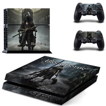 Game Bloodborne PS 4  Sticker PS4 Skin for Sony PS4 PlayStation 4 and 2 controller skins