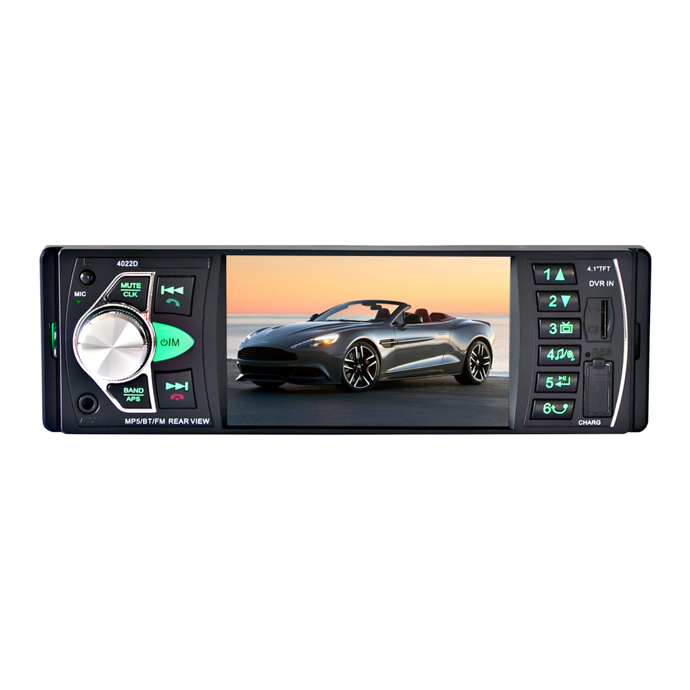 "Image 5 - 4022D  4.1"" TFT HD Digital Car MP5 Player Car MP5Player In Dash Universal Auto Radio Stereo Car Audio Video Multimedia Player-in Car Radios from Automobiles & Motorcycles"