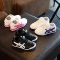 Nueva primavera calzado deportivo zapatillas de deporte de la muchacha del muchacho niños cómodos calzado zapato de tenis de baloncesto correr niños otoño shoes