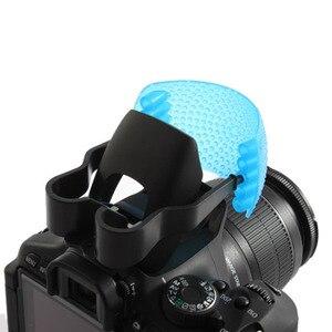 3 Color Pop-Up Flash Diffuser Cover For Canon Nikon Pentax Kodak DSLR SLR Camera(China)