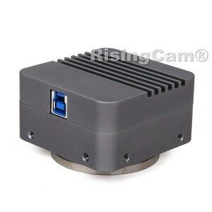 Image 3 - BigEYE Microscope numérique 10mp SONY imx294, caméra 4/3 pouces CMOS avec montage M42 et C pour microscope biologique trinoculaire