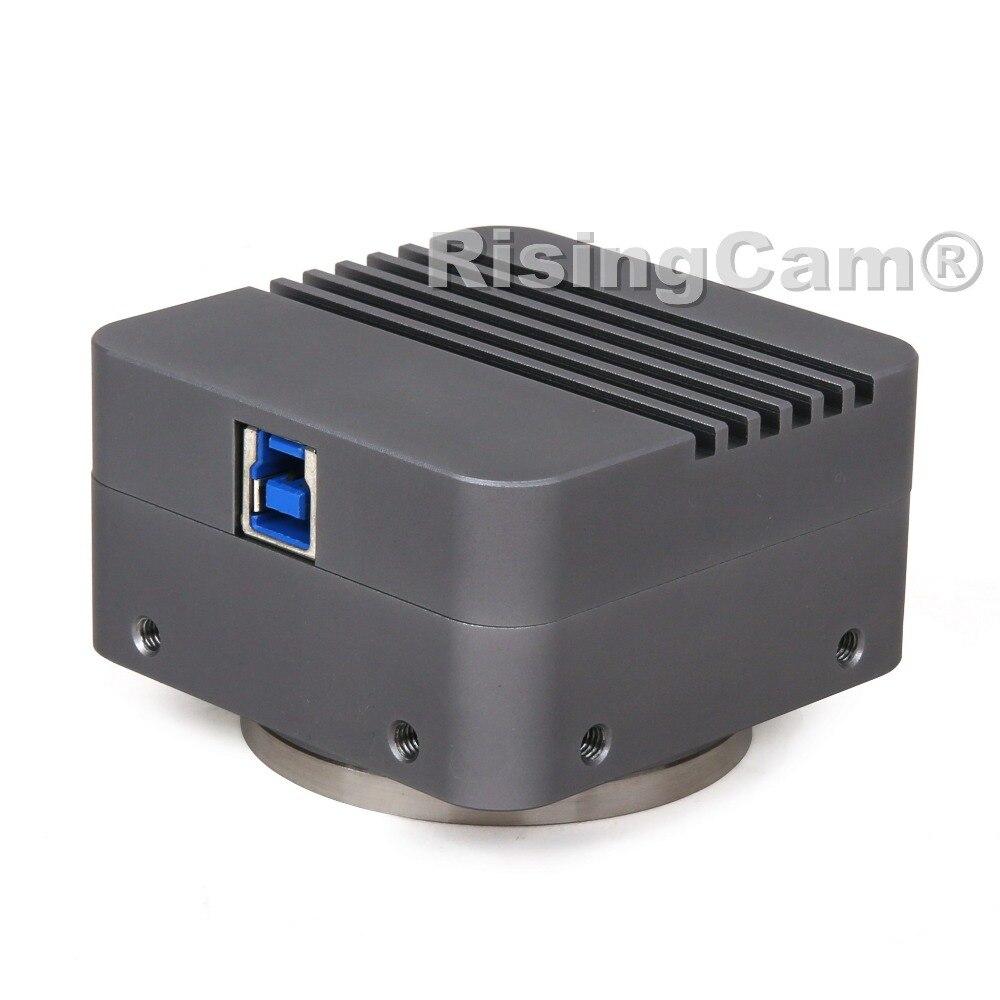 "Image 3 - BigEYE USB3.0 10mp SONY imx294 4/3"" CMOS Digital Microscope camera with M42 and C mount for trinocular biological microscopeMicroscopes   -"