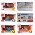 Brand New Despicable Me Minions Diecast Vehicles 7cm Toy Cars Set & Free Shipping