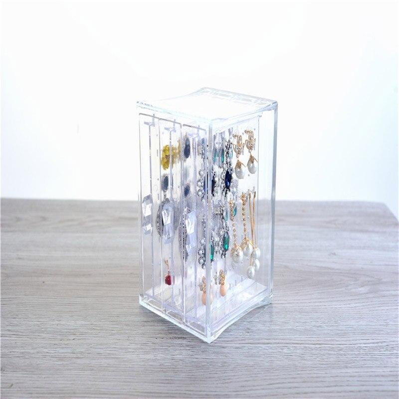 Rschef 1 шт. Пластик оригинальность хранения прозрачные украшения визитная карточка box 3 решетки коробка