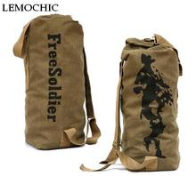 LEMOCHIC 40L Outdoor Sports 3P Bag Tactical Military Large Rucksacks For Explorer Camping Hiking Trekking Gym