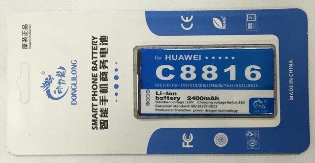 HB474284RBC battery For Huawei C8816 C8816D C8817L G615 G620 G521 G601  Replacement Battery Bateria 2000mAh Donglilong