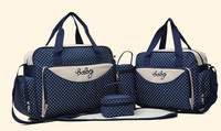 Multifunctional Mummy Maternity Nappy Bags Shoulder Bag Organizer Bag Handbag Waterproof Baby Stroller Buddy Changing Set