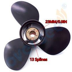 الألومنيوم المروحة 1311-111-13 حجم 11 1/8X13 R ل الزئبق 30HP 40HP خارجي محرك دوار 11-1/8x13 48-855860A5