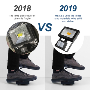 Image 5 - 20W LED Motion Sensor Flood Light 2000lm IP66 Waterproof LED Floodlight Outdoor Spotlight for Garden Patio