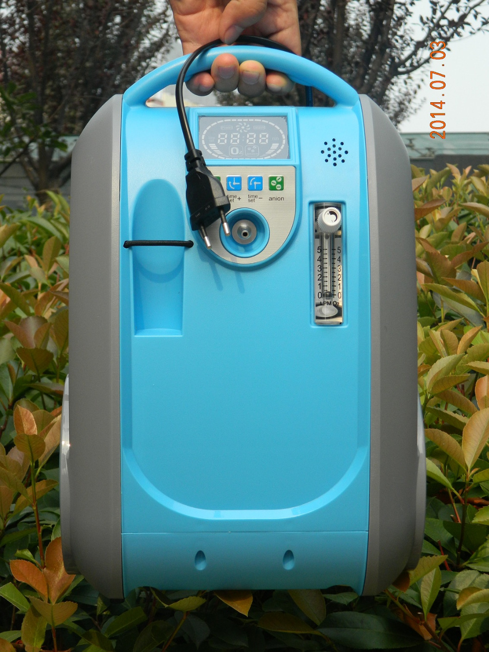 COXTOD Newest 5L portable oxygen concentrator for home/car/travel coxto home car travel 1l 5l 90