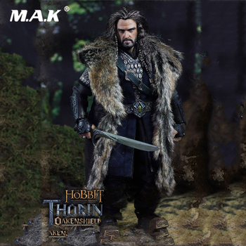 1/6 Scale Collectible THE HOBBIT Series :THORIN OAKENSHIELD An Unexpected Journey Sixth Scaled Figure Model for Fans Gifts фото