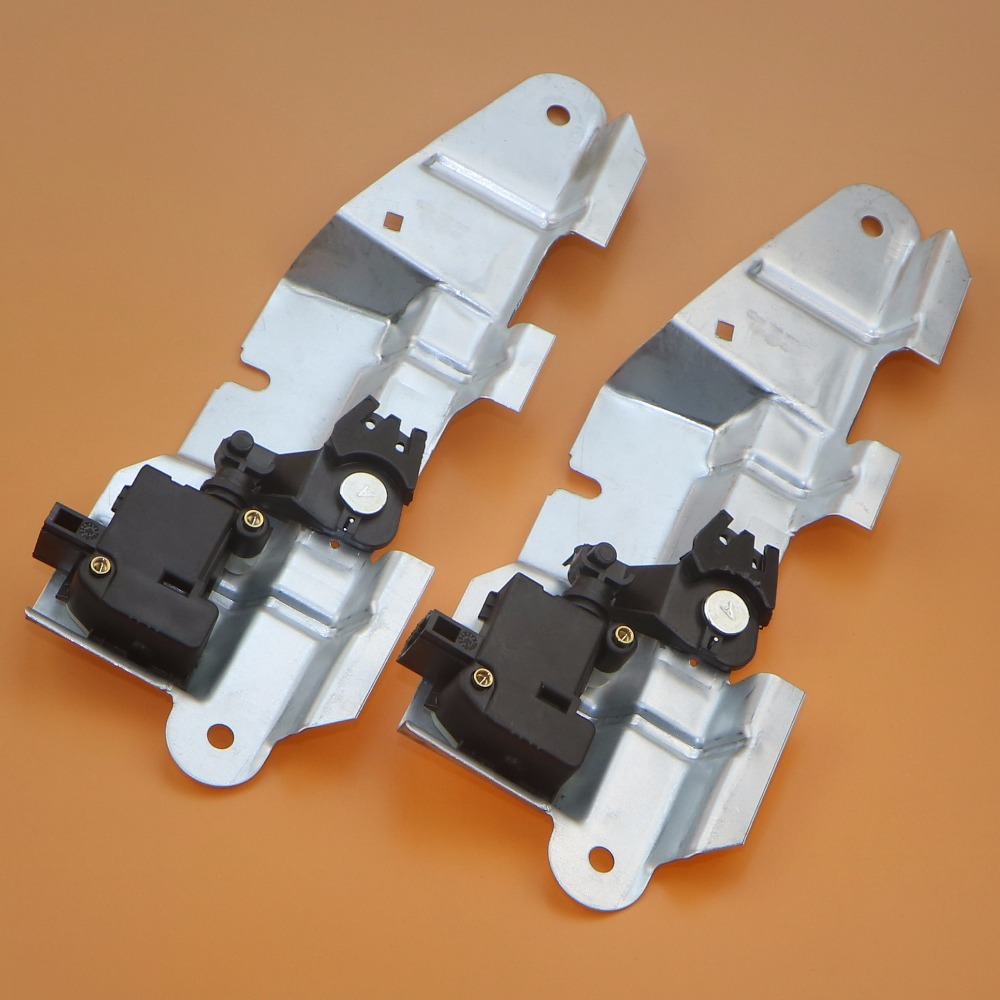 2 Set voiture arrière bootcover coffre loquet support + queue porte serrure moteur pour VW Passat B5 Jetta Golf Bora 4 1J5 827 425 F 3B0 959 781