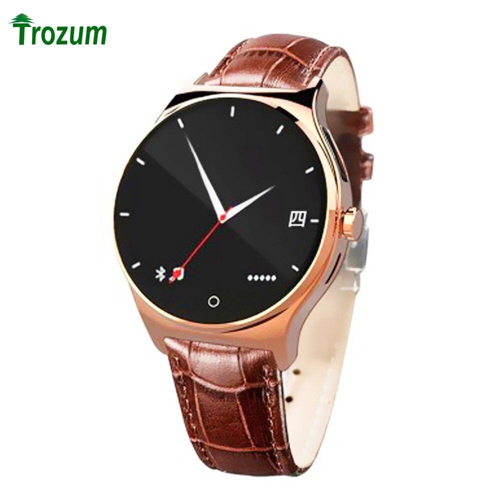 imágenes para TROZUM RWATCH R11 reloj inteligente para Iphone Android IP67 A Prueba de agua Al Por Mayor anti-perdida Smartwatch Bluetooth 4.0 Monitor Del Ritmo Cardíaco