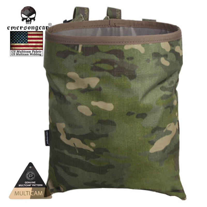 Emerson Tactical Recycling Bags Airsoft Molle Magazine Drop Pouch 1000D EM6032