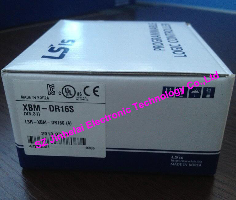 100% New and original XBM-DR16S LS(LG) PLC 100% new and original g6i d22a ls lg plc input module