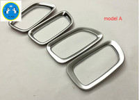 4 Pcs Interior For Nissan Murano 2015 ABS Glossy Or Matte Inner Side Door Handle Bowl