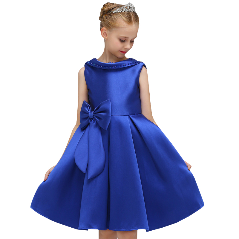 Flowers Girls Dress Wedding Princess Dresses For Girls Summer Children Clothes Girl Costume For Kids Vestidos 3 5 6 8 9 10 Years summer girls dress 2017 stripe dresses for girl with headband kids clothing infant princess children vestidos kids clothes