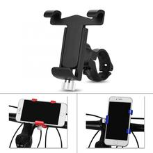 Aluminum Alloy Adjustable Bicycle Bike Handlebar Phone Clip Bicycle Smartphone Mount Holder Stand GPS Mount Bracket rockbros aluminum alloy bike bicycle handlebar extended holder for speedometer light phone bicycle accessories extended mount
