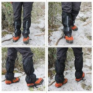 Image 4 - NOUVEAU 1 Paire Imperméable Randonnée Pédestre Randonnée Pédestre Escalade Chasse Neige Legging Gaiters gaiters de ski