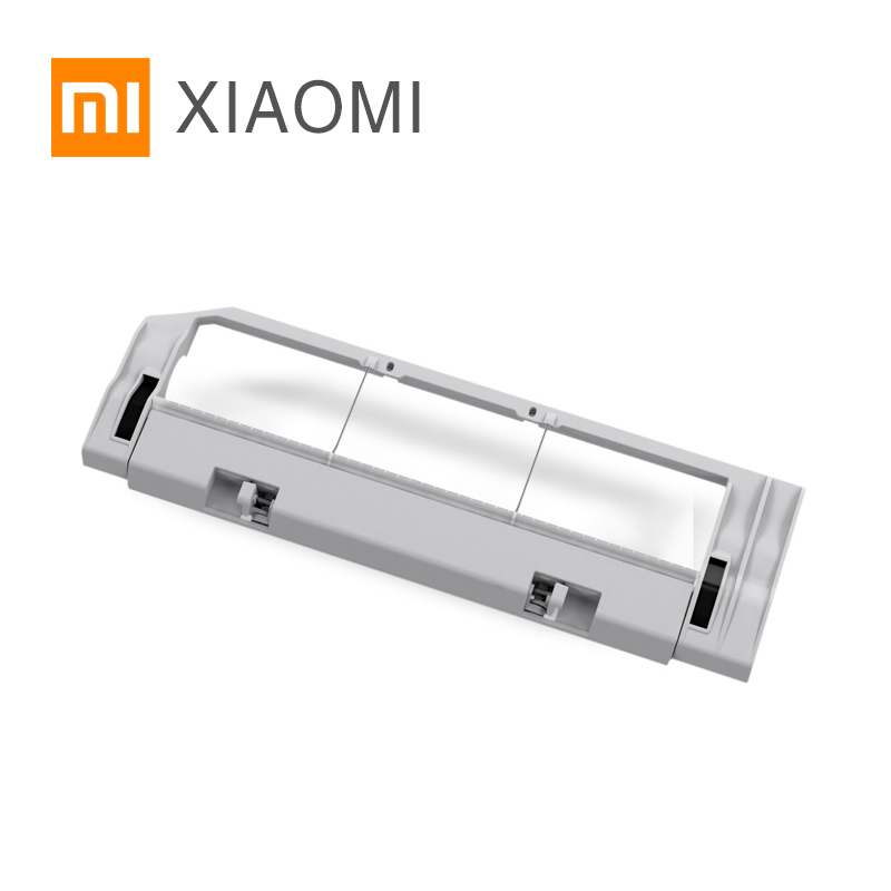 XIAOMI Robot Vacuum Cleaner Spare Parts Roller Replacement Kits Cleaning Spare Parts Cover for Main Brush for qq6 remote control for robot vacuum cleaner 1pc pack cleaning machine replacement parts