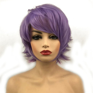 Image 3 - StrongBeauty Halloween Wig Blue Assassination Classroom Akabane Karma Cosplay Wigs Red Synthetic Hair