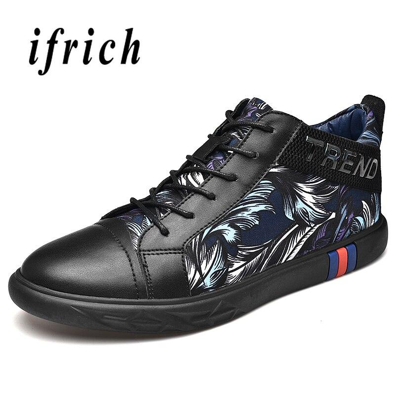 Homens Da Nova Masculino Sapatos De Para Flats Walking Dos Black Sapatas O Men Calçado Médio Sexo Lona Preto Moda Confortável Corte 2018 qWw07R5E7