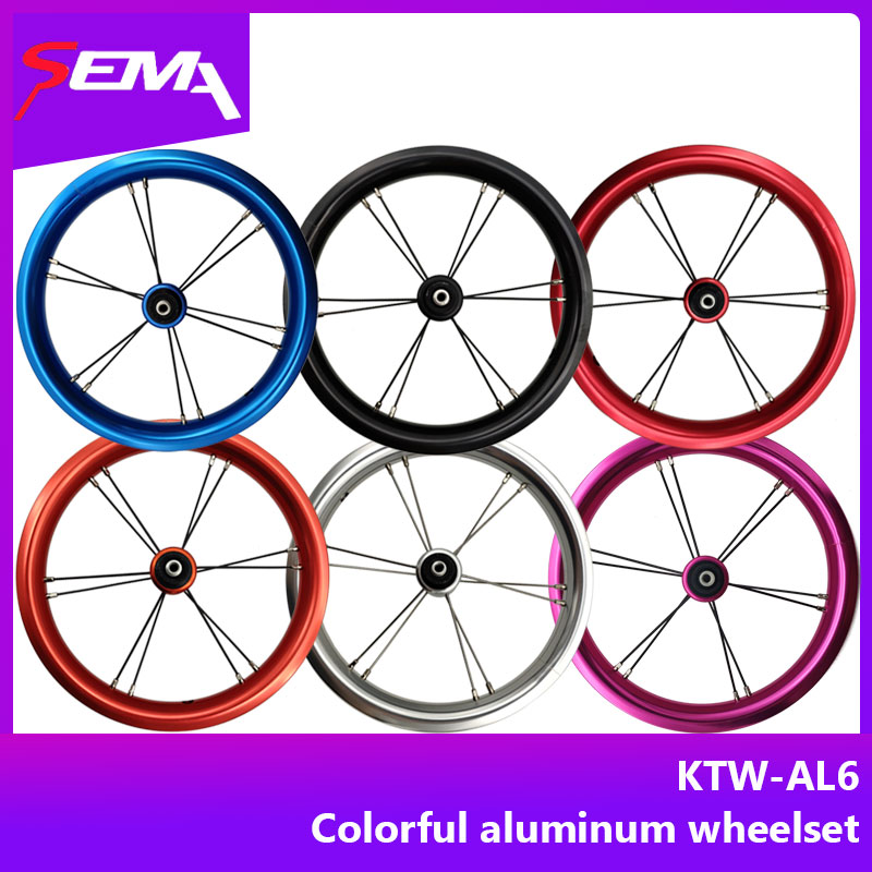 Hot Wheels KTW newest 12 inch aluminum wheelset for kids balance bike Striders Kokua push bike