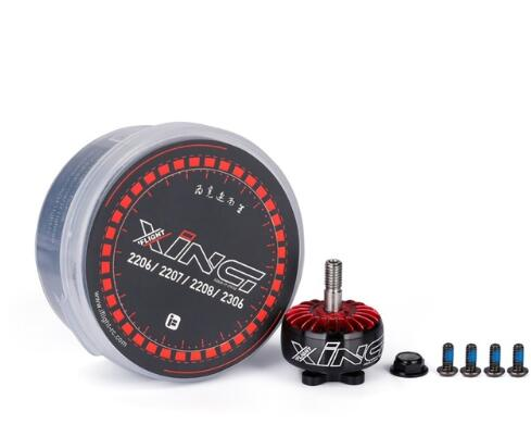 iFlight XING 2207 1700KV 1800KV 3-6S Brushless Motor W/ Titanium alloy shaft compatible HQ 5 inch Prop for FPV RC Racing