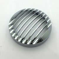 5 3/4 Motorcycle Chrome CNC Headlight Grill Cover Grille For Harley Sportster XL883 Iron XL1200 2004 2014