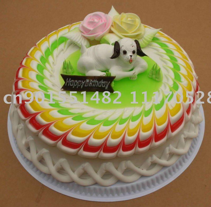 Plastic Cake Model Simulation Cake Model Wedding Birthday Birthday