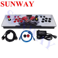 1399 games in 1 box 6s game console 1 2players arcade game station game console for amusement Pandora's box