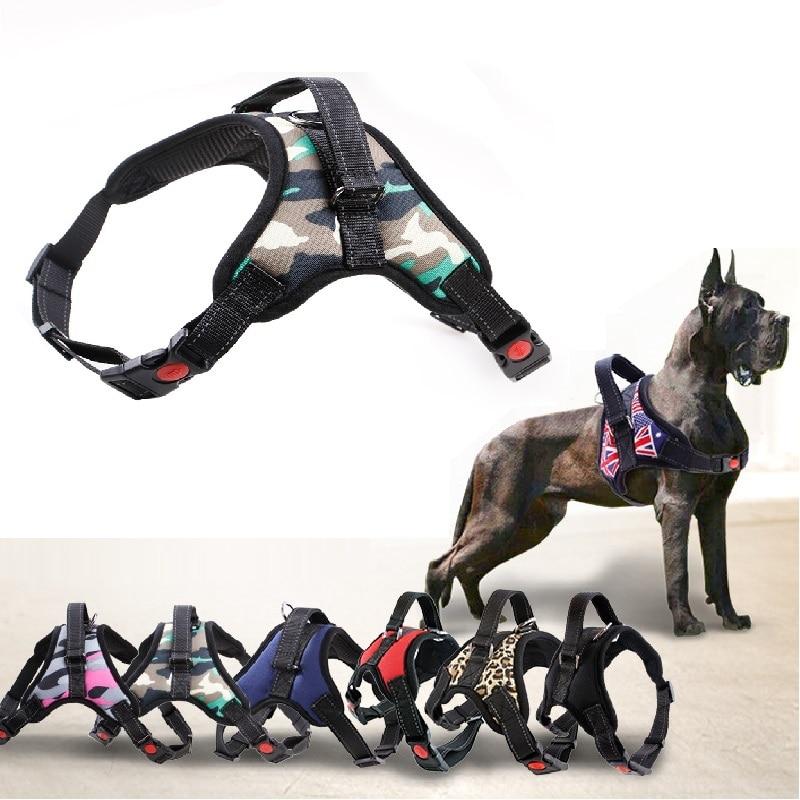 Нейлоновый сверхмощный ошейник для собак, ошейник с регулируемой подкладкой, очень большой средний жилет для маленьких собак, товары для больших собак хаски|Портупеи|   | АлиЭкспресс