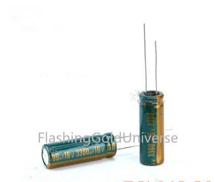 16V 3300UF 3300UF 16V   Aluminum Electrolytic Capacitors Size:10*25