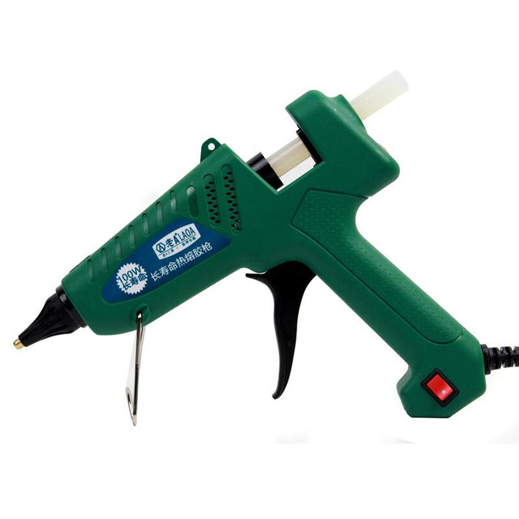 La813100 100w Hot Melt Glue Gun For Metal/wood Working Glue Stick Industrial Guns Thermo Electric Heat Temperature Tool