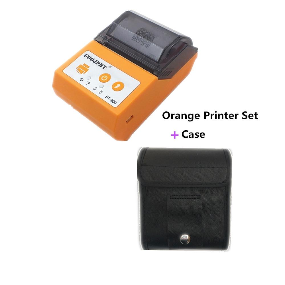 Goojprt transporte direto 58mm inkless bluetooth 4.0 impressora de recibos térmica eua ue plug inteligente auto recibo térmico bilhete impressora|Impressoras| |  - title=