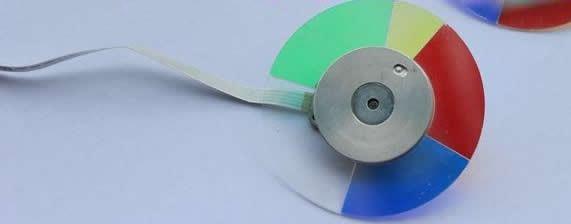 Projector Color Wheel For VIVITEK D4500 new original projector color wheel for vivitek d929tx projector color wheel