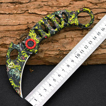 New Karambit Claw Knife Mantis Folding Knife 440C Blade Survival Hunting Camping Tactical Knives Outdoor EDC Tools y50