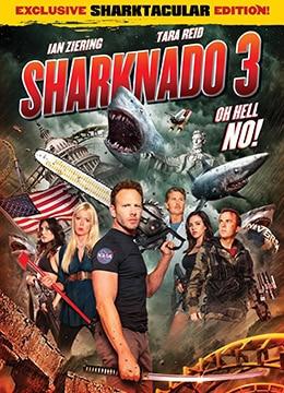 《鲨卷风3》2015年美国喜剧,科幻,恐怖电影在线观看