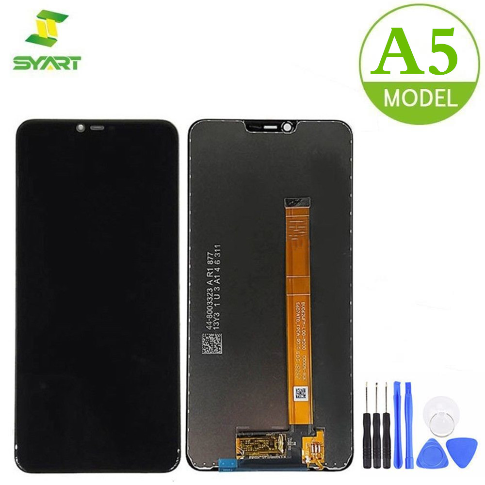 For <font><b>OPPO</b></font> <font><b>A5</b></font> A 5 <font><b>LCD</b></font> Display Touch Screen Digitizer Assembly Replacement Parts + Free Tools For <font><b>OPPO</b></font> A 5 6.2
