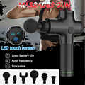 Masseur de thérapie pistolets 4200r/min 6 vitesses vitesse corps masseur professionnel électrique vibrant Muscle masseur pistolets outils portables