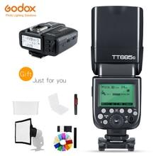 Godox TT685C TT685N TT685S TT685F TT685o TTL HSS กล้อง Speedlite Flashwith X1T Trigger สำหรับ Nikon Canon Nikon Sony Olympus Fuji