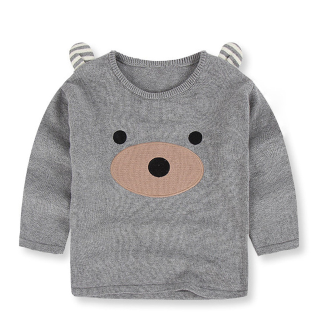 2017 Autumn Winter New Kids Sweater Cotton Character Pattern Princess Sweater Boys Baby Children Clothing Boy Toddlers Sweater