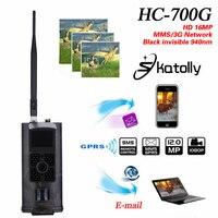 Skatolly HC 700G Full HD 16MP 1080P Hunting Trail Camera HC700G Video Night Vision 3G MMS GPRS Scouting Game+Free shipping!